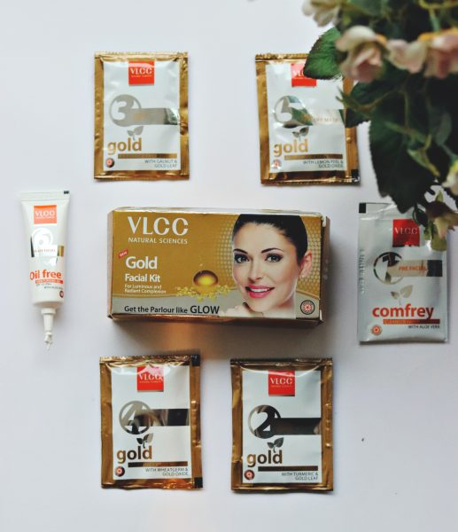 VLCC Gold Facial Kit