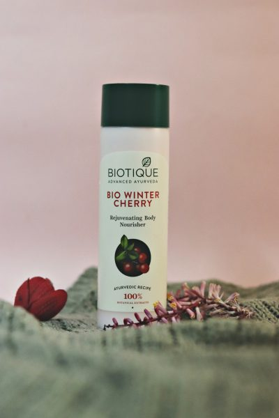 Biotique Winter care, bio cherry body lotion, beauty blogger