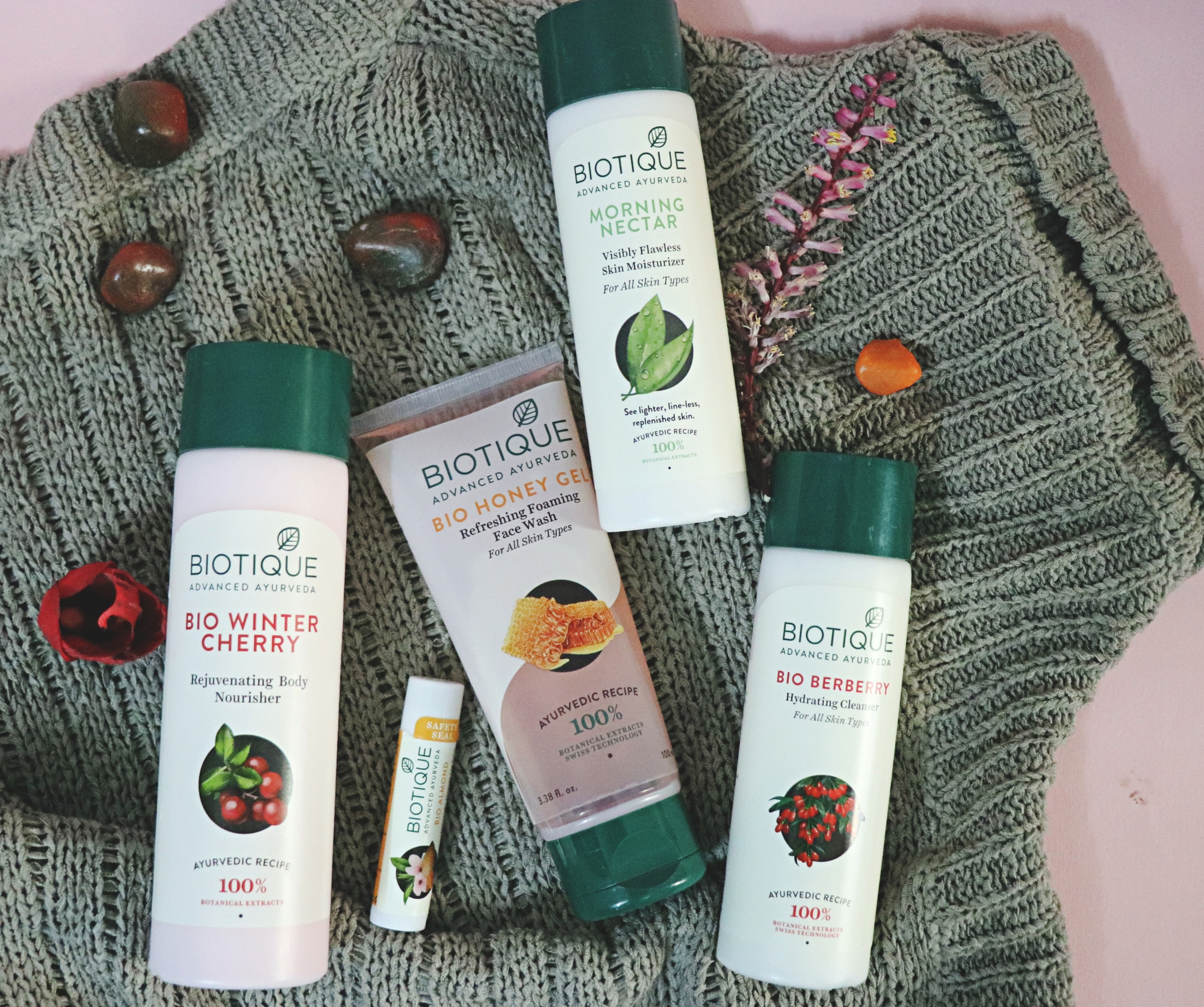 Biotique Winter Collection, beauty blogger, biotique review