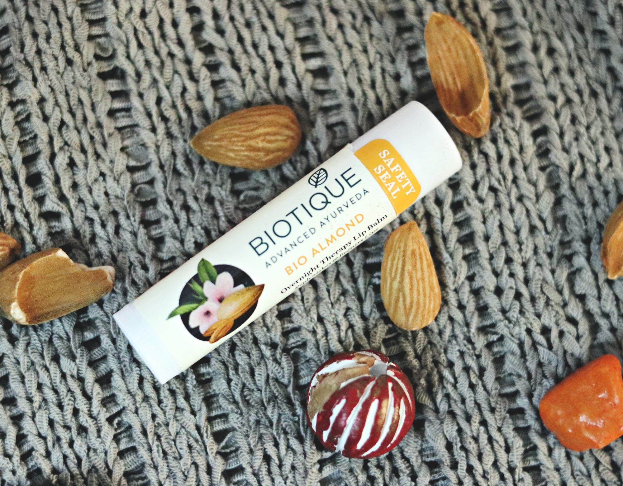 Biotique Winter care, bio almond lip balm, beauty blogger