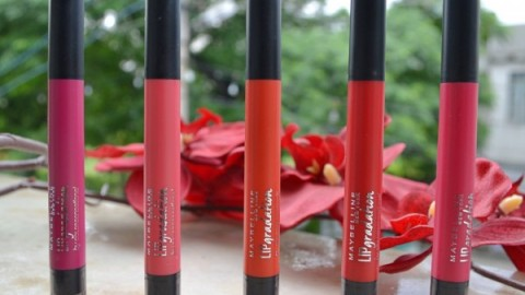 Maybelline Lip Gradation Review and Swatches