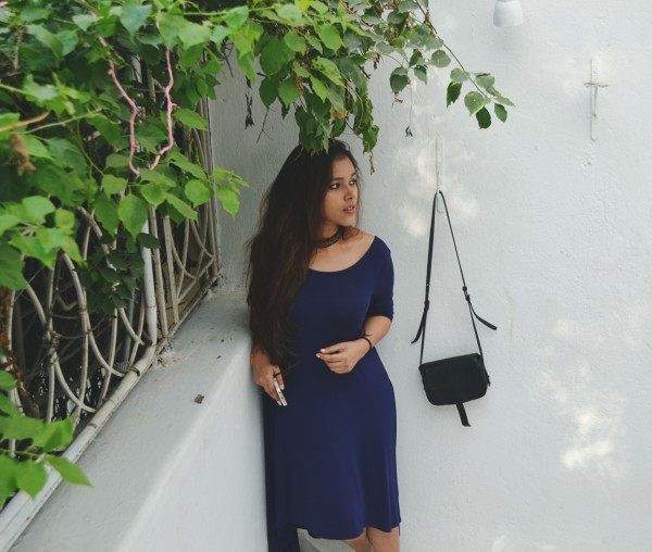 Femella blue dress