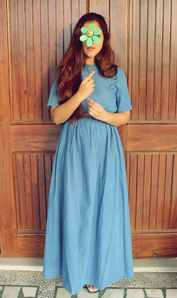 denim dress india