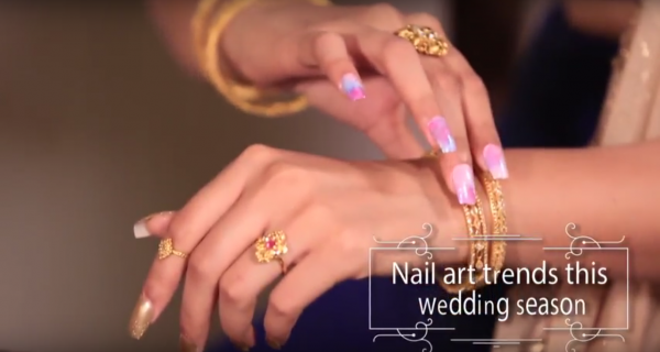 Kalyan Jewellers, nail art, truly bridal blog