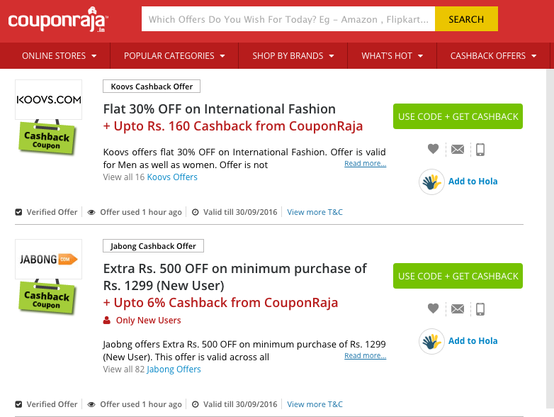 couponraja review, couponraja.com, diwali shopping online, diwali shopping tips