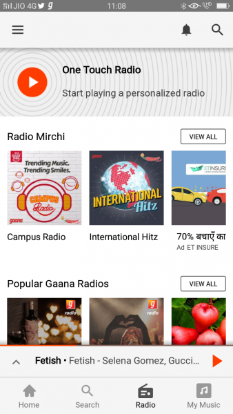 how to download gaana.com app