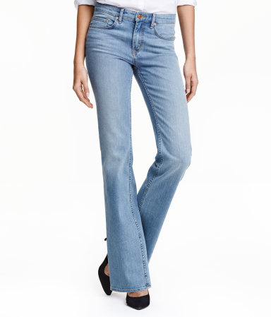 bell bottoms h&m
