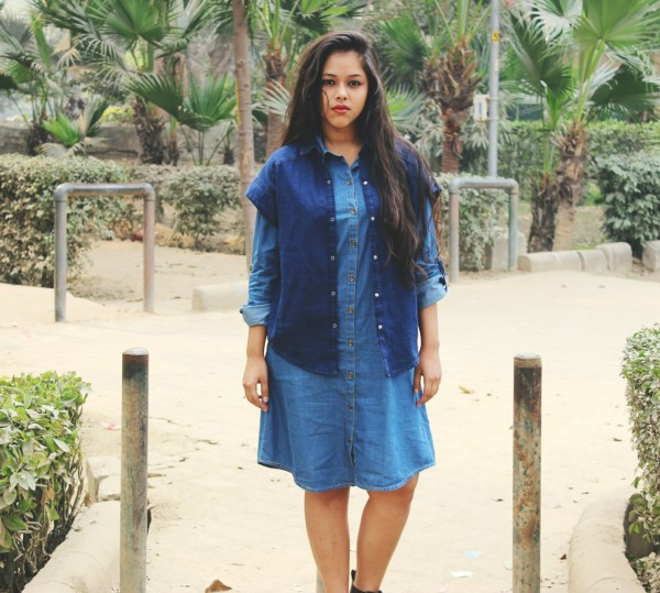 denim shirt dress online india 01