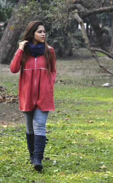 femella red, femella, lady like outfit, street style, femella, delhi fashion blogger, indian, femella winter outfit
