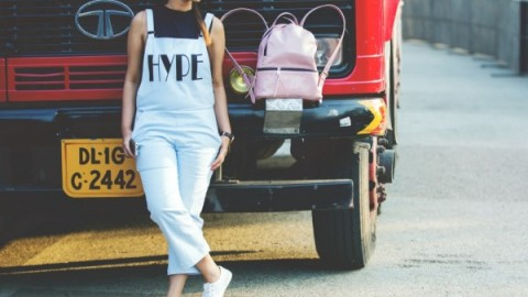 Street Style in Overalls