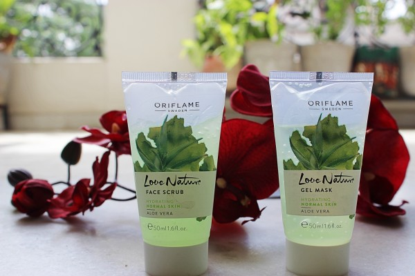 love nature gel mask