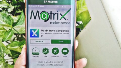 Matrix Travel Companion App Review