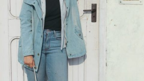 Denim on Denim for winters ft. shein.com