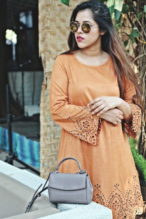 How to style Suede Dress? ft. Shein.com