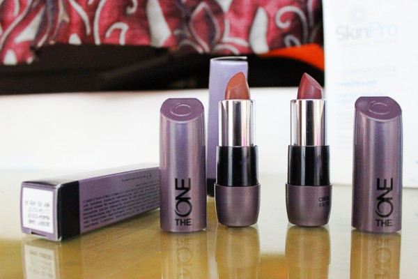 the one matte lipstick oriflame